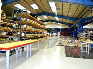 Atelier - zone de stockage